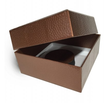 Caja Forrada Bronce