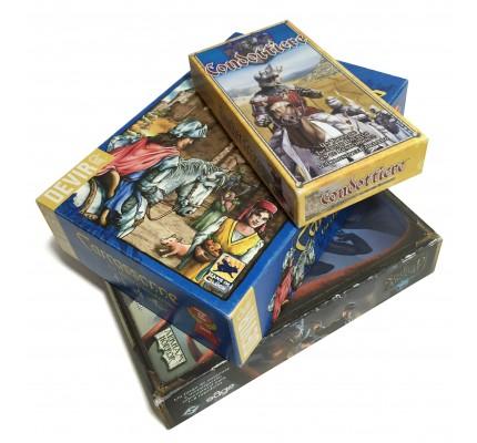 Cajas forradas para Juegos